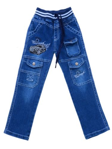 Брюки детские джинсы 5-8 №156095