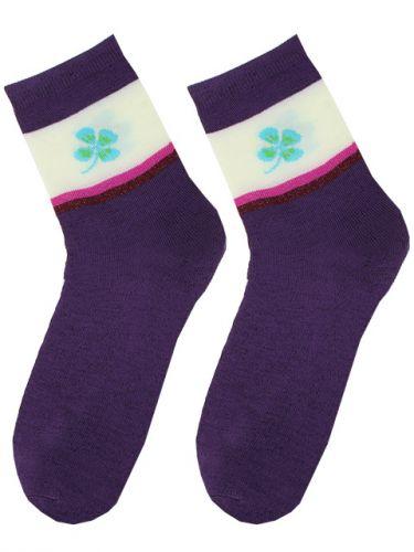 ХИТ!!!Женские носки однотонн.  (мин.заказ 3 уп)-17,5 руб